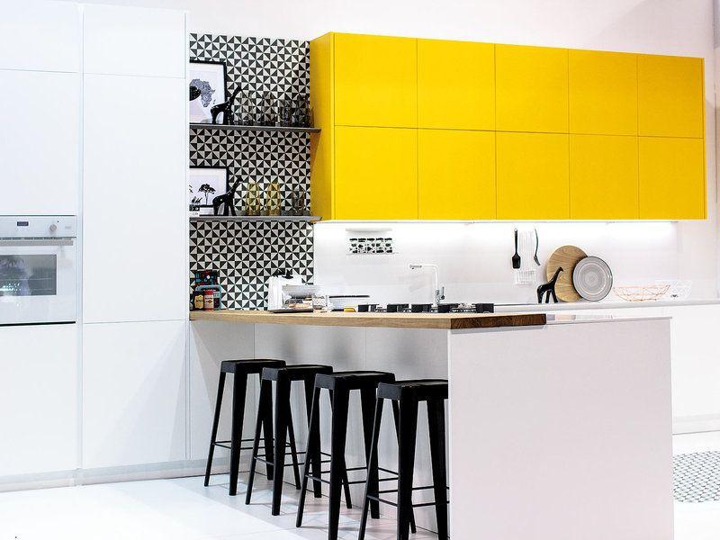 Lo que se cuece lo ltimo para tu cocina cocinas o for Muebles de cocina amarillos