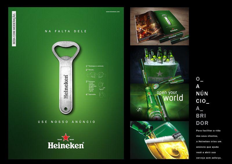 O Anúncio Abridor Heineken - Caco Scarrone - Diretor de Arte