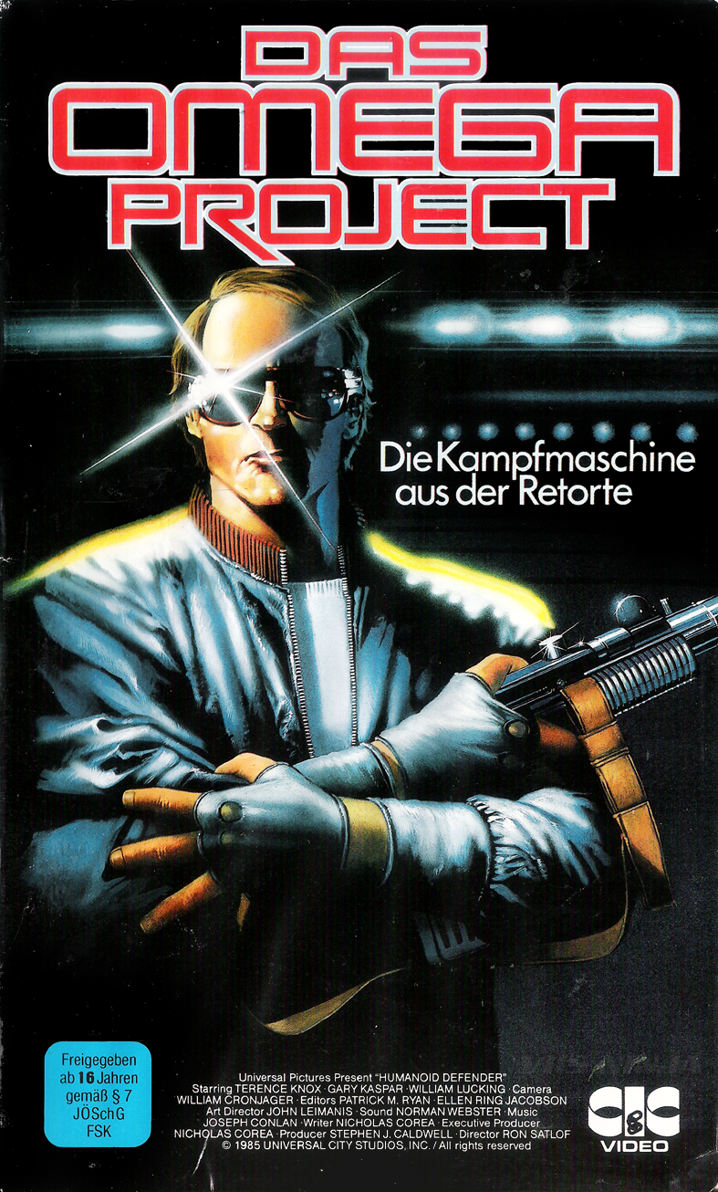 "vhs-ninja: ""  Humanoid Defender (1985) by Ron Satlof. """