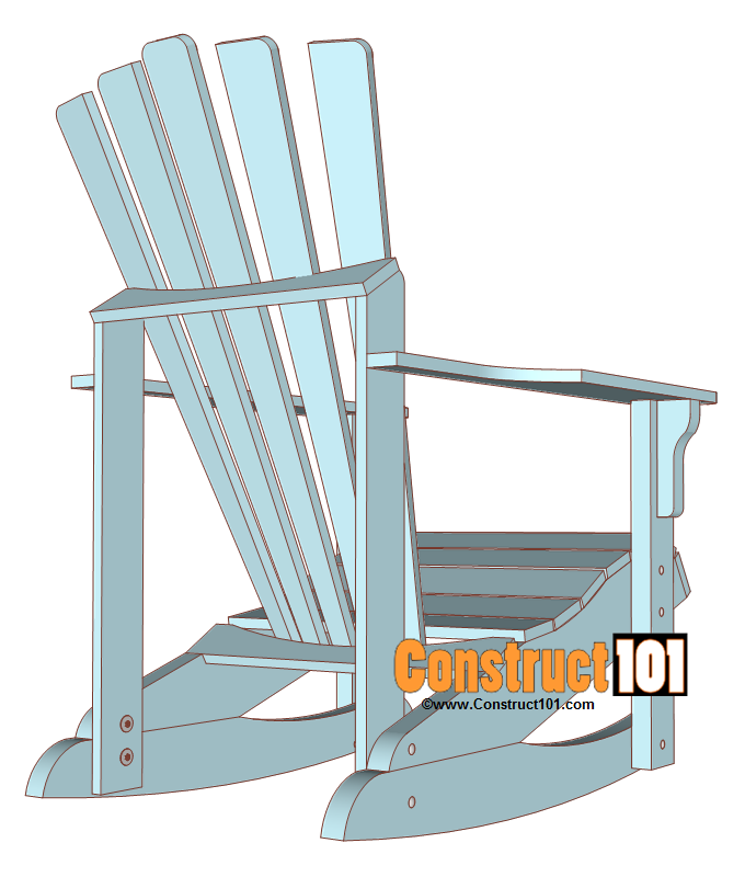 Adirondack rocking chair plans Free Printable Build An Adirondack Rocking Chair Adirondack Rocking Chair Plans Include Pdf Download Shopping List Cutting List And Drawings Pinterest Adirondack Rocking Chair Plans Pdf Download Diy Rocking Chair