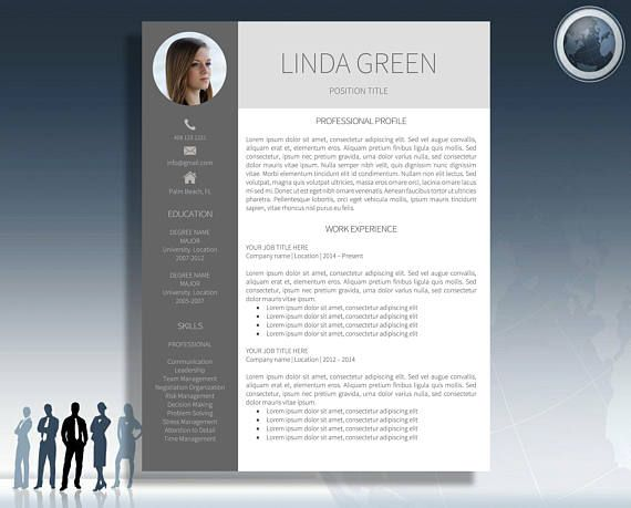 Professional And Modern Resume Template For Ms Word And Mac Pages