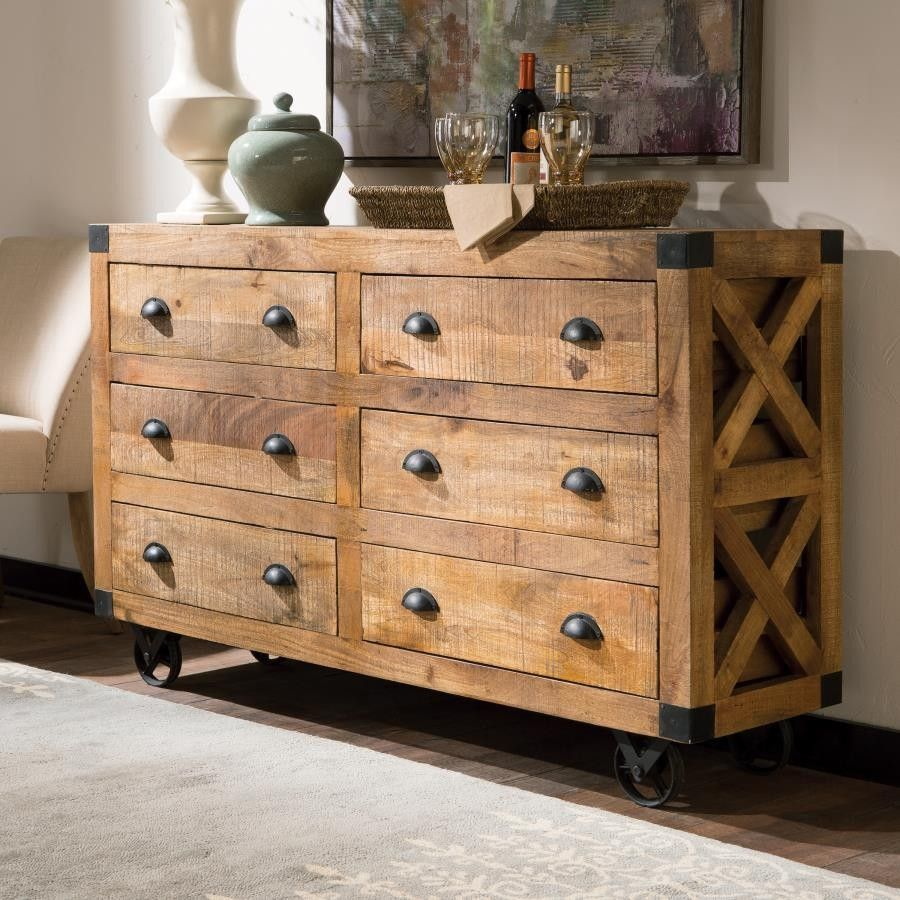 Solid Mango Wood In A Rough Swan Natural Finish Make This Accent