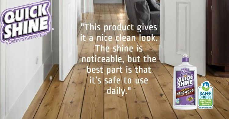 For a daily clean reach for our quick shine cleaners