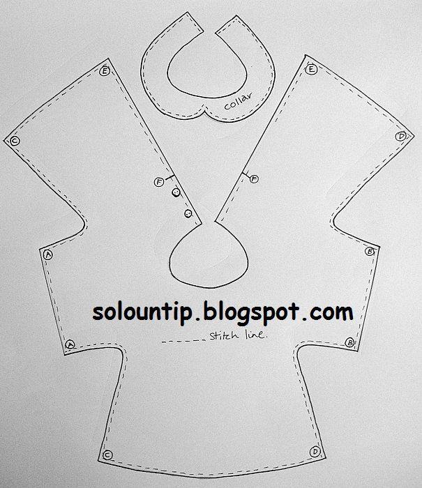 Como hacer vestido para muñecas | Solountip.com | Patrones ...