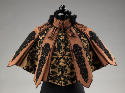 Emile Pingat Cape | Met Museum | c. 1895 How steampunk is this?