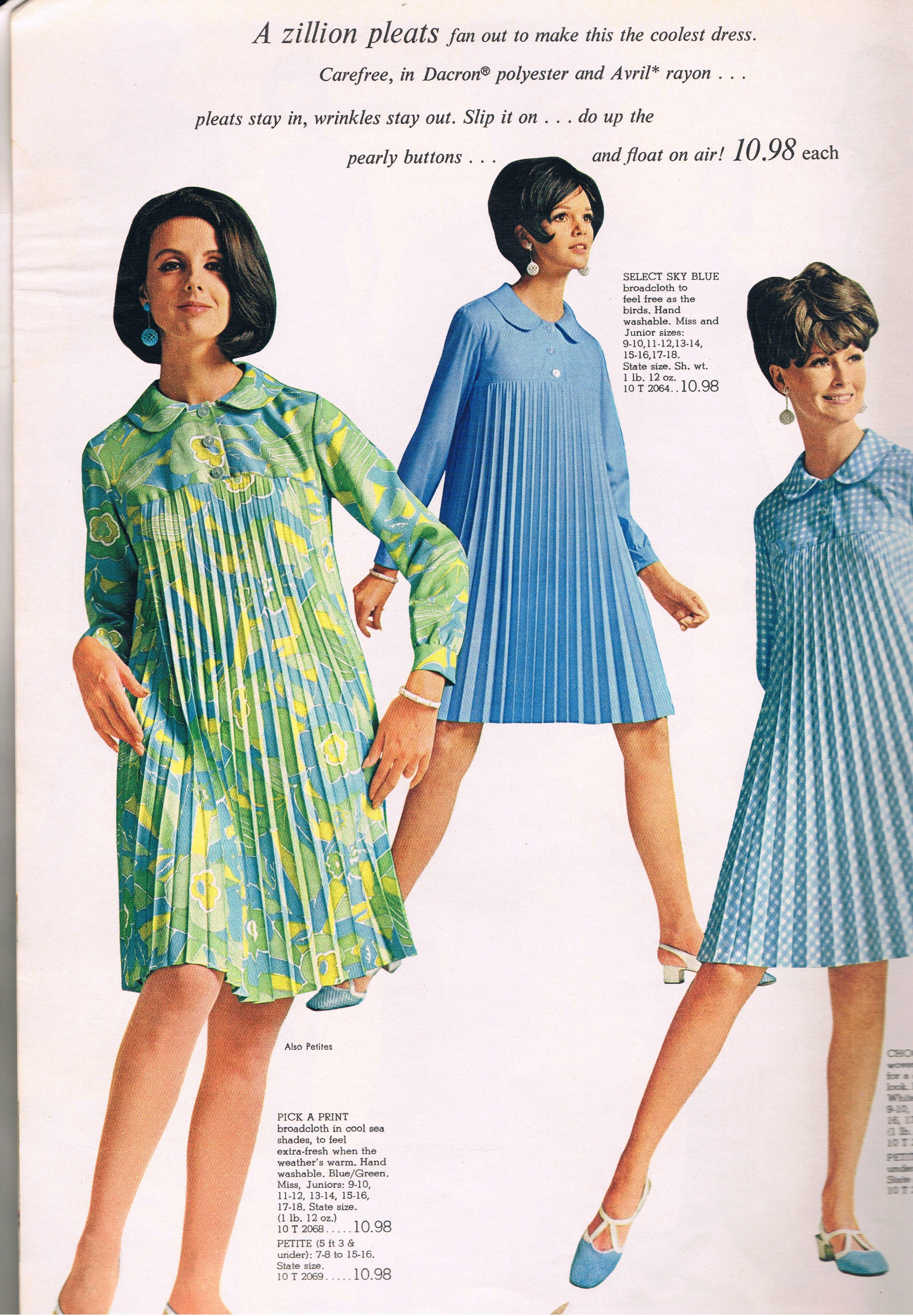Spiegel 1968 60 s catalog fashions Pinterest