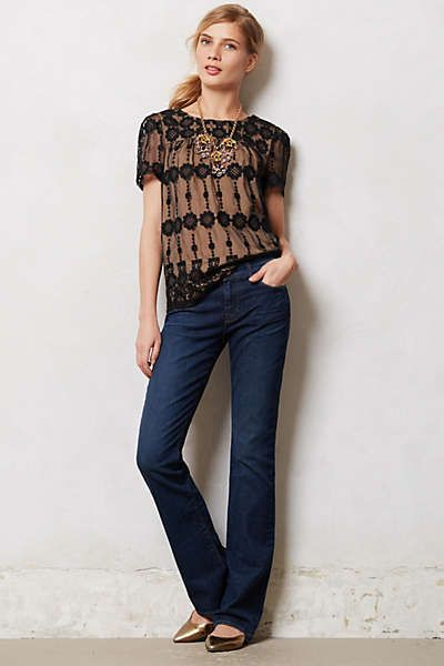 Anthropologie boot cut jeans