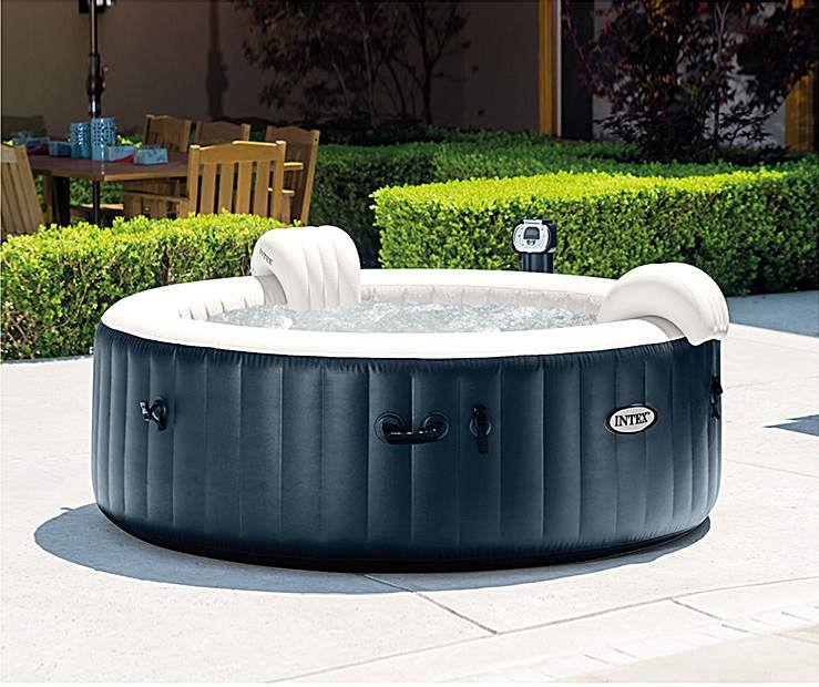Intex Purespa Plus Bubble Inflatable Hot Tub Big Lots In 2021 Portable Hot Tub Best Inflatable Hot Tub Inflatable Hot Tub Reviews