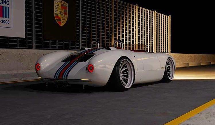 Porsche 550 Spyder Cool Cars Spoko Fury Porsche
