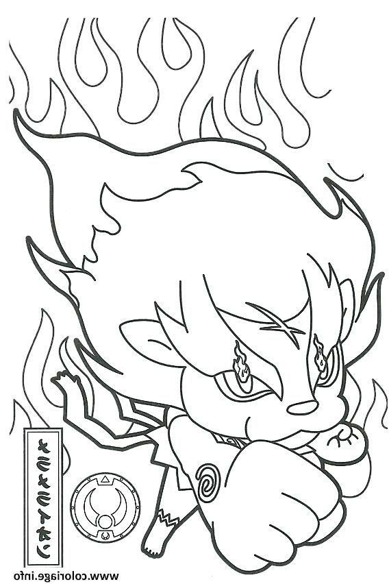 14 Minimaliste Coloriage Yo Kai Watch 2 À Imprimer Images ...