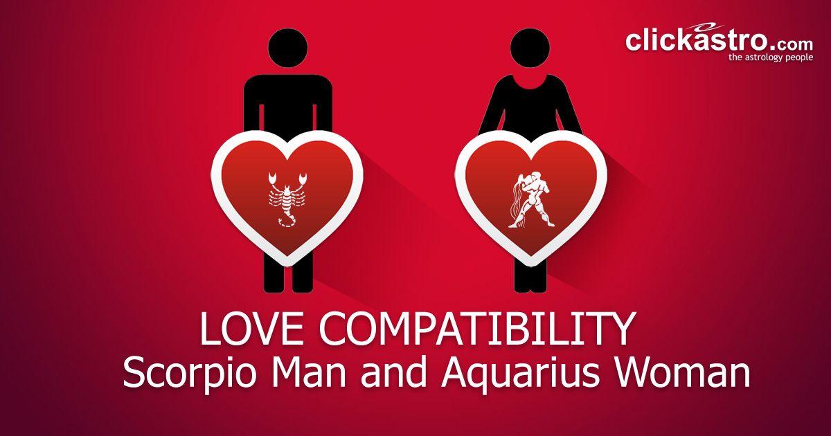 Scorpio man and aquarius woman relationship