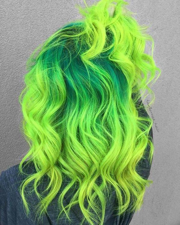71 grüne Haare färben Ideen, die Sie lieben werden — Alles für die besten Frisuren