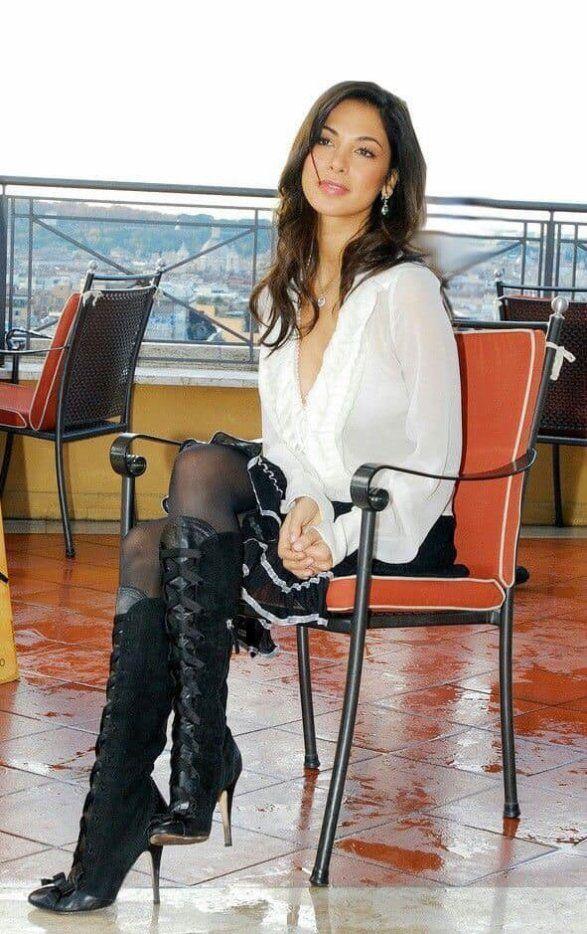 Stiefel und strumpfhosen frauen in Wenn Frauen