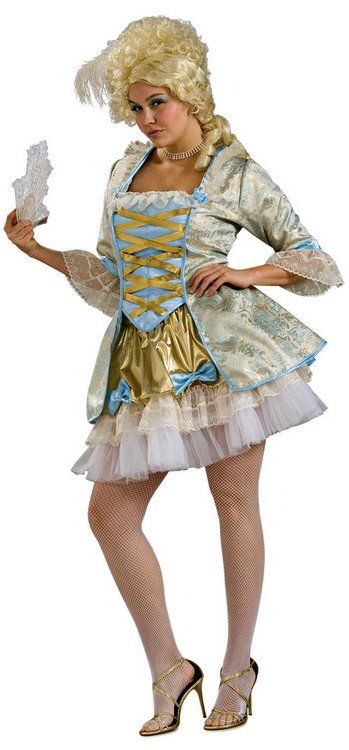 Plus Size Sexy Marie Antoinette Costume - Candy Apple Costumes - Plus Size SALE Costumes