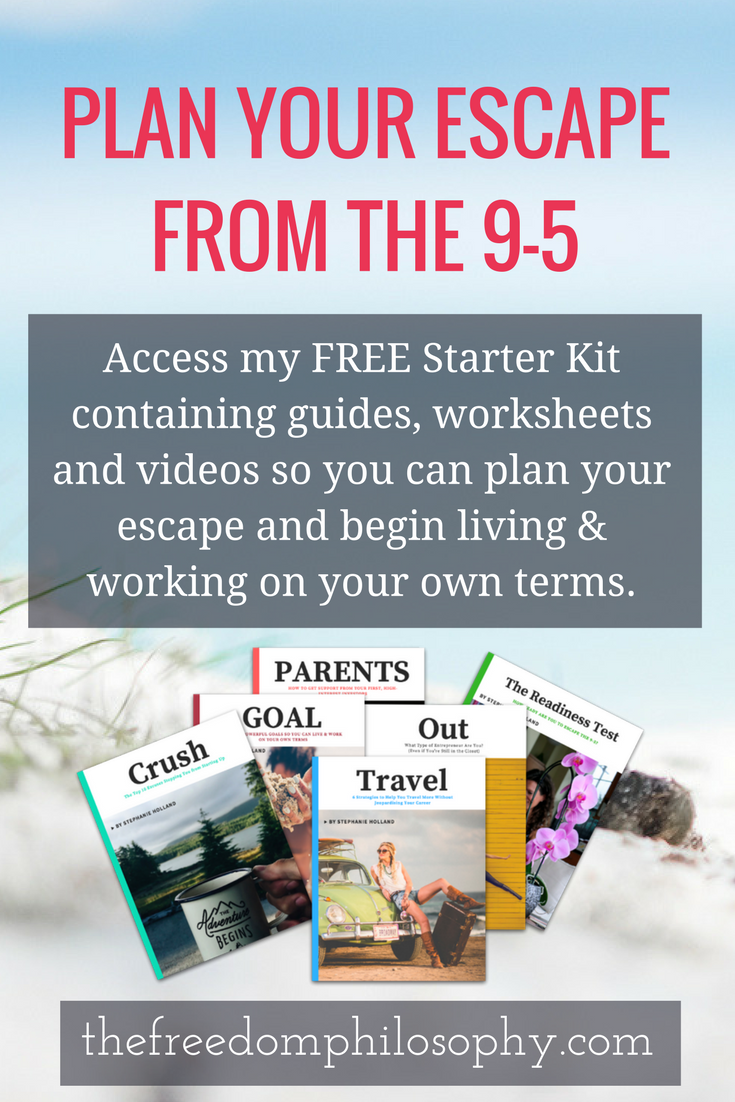 FREE RESOURCES: Escape the 9-5 Starter Kit