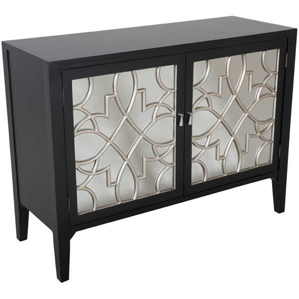 American Furniture Warehouse Online Shopping: Black Mirrored Accent Cabinet By Cambridge Home Is Now