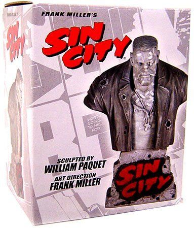 Frank Millers Sin City Legends Bust Marv by Dynamic Forces. $59.99. The first in a line of DYNAMIC FORCES Sin City Busts, overseen and approved by creator Frank Miller and sculpted (and painted! What cant this man do!!) by William Paquete, the Marv bust is now ready for your collection! As with previous DF/Sin City releases, the quality on this new line of busts is secondtonone, and best of all, Paquete has crafted a bust in the popular style that most comic busts current...