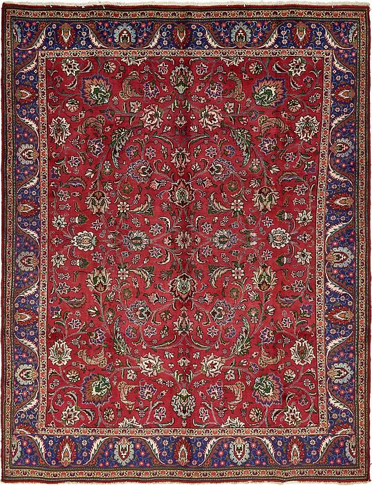 Red Tabriz Area Rug Rugs Rugs In Living Room Room Rugs