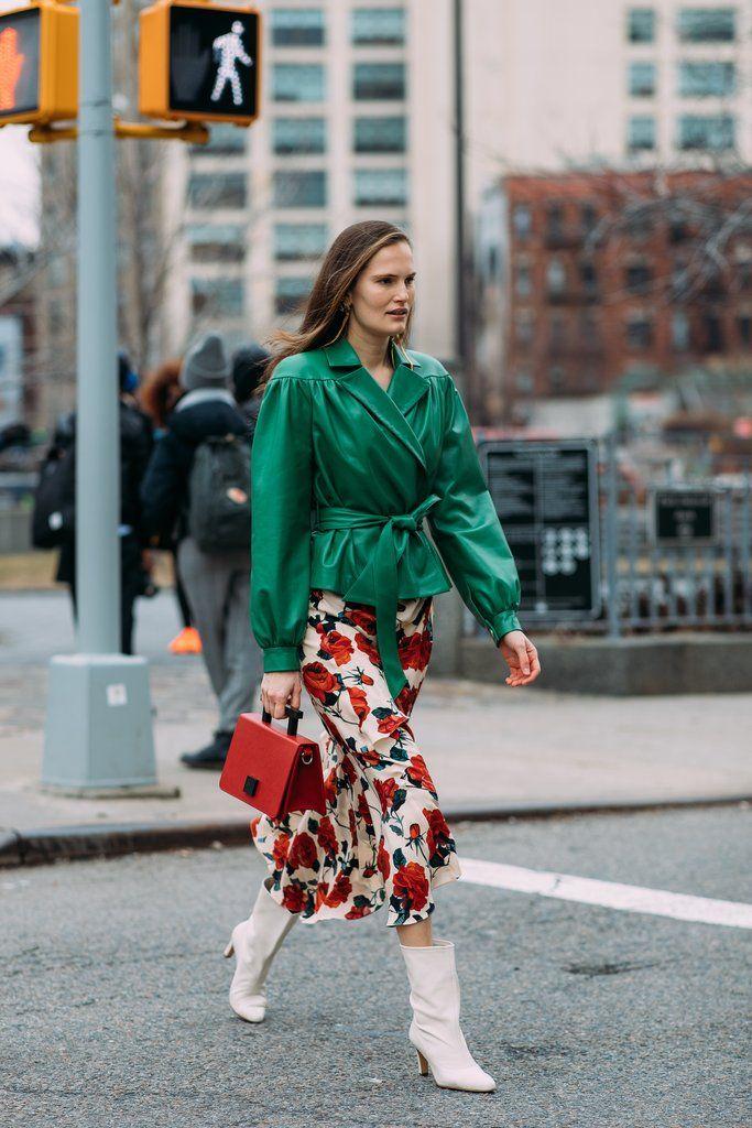 Day 3 | Street Style at New York Fashion Week Fall 2018 | POPSUGAR Fashion Photo 116