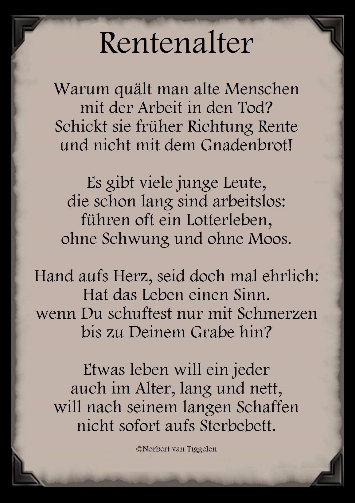 Gedichte Von Norbert Van Tiggelen Startseite