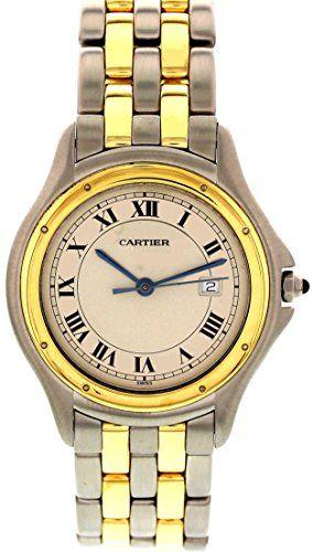 Cartier Cougar swiss-quartz beige unisex-adult Watch 187904 (Certified Pre-owned) https://www.carrywatches.com/product/cartier-cougar-swiss-quartz-beige-unisex-adult-watch-187904-certified-pre-owned/  #cartier-cartierwatch-cartierwatches-#cartierwatch-#cartierwatches #men #menswatches - More Cartier mens watches at https://www.carrywatches.com/shop/wrist-watches-men/cartier-watches-for-men/...