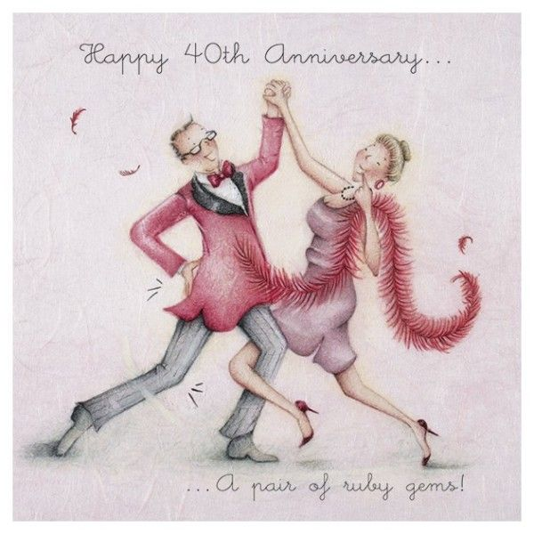40th Wedding Anniversary Quotes: Happy 40th Annivetsary