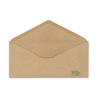 22 56 Amazon Ampad Envirotec 100 Recycled Business Envelopes 10 22 Pound Paper Gummed Closure V Flap 500 P Business Envelopes Envelope Paper Envelopes