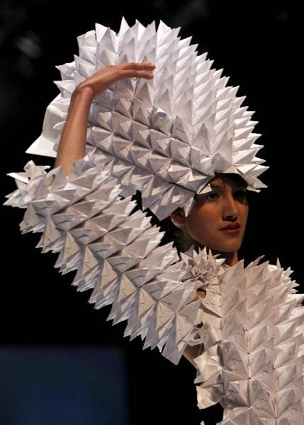 Paper fashion (3) - People's Daily Online