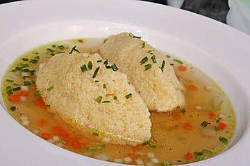 Photo of Semolina dumplings for soups