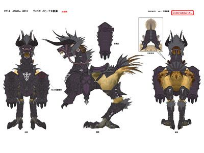Chocobo armor | Oscar barding | Final fantasy xii, Final fantasy