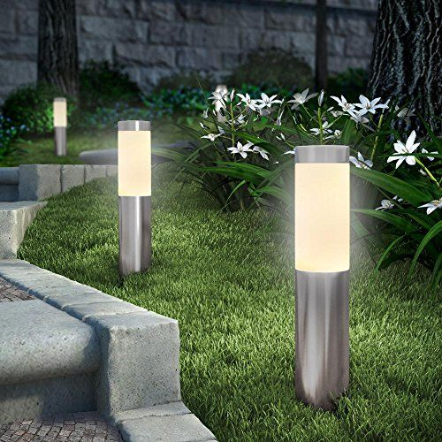 Stainless Steel Solar Bollard Lights