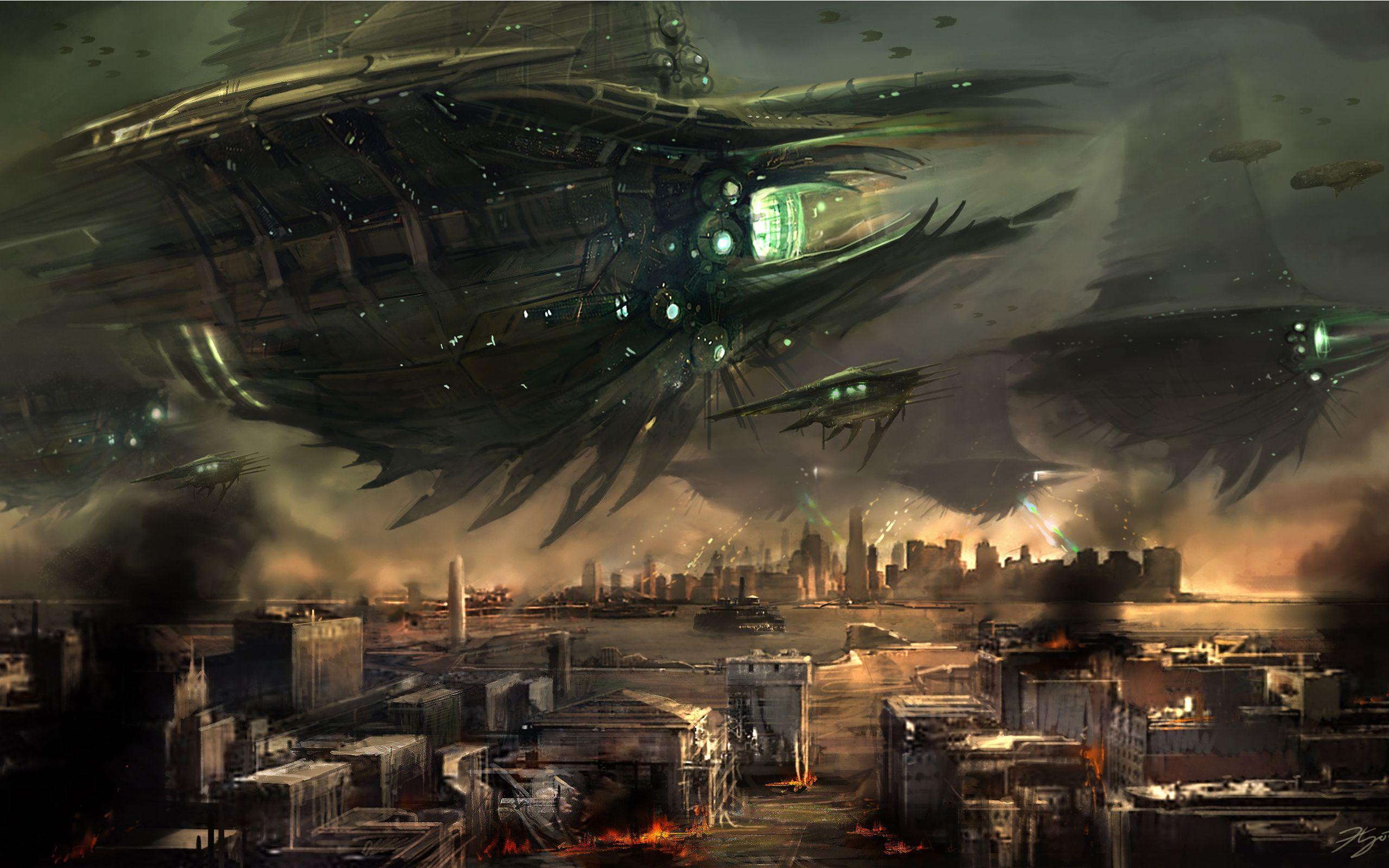 Anarchy Online Alien Invasion Screenshots Pictures Wallpapers