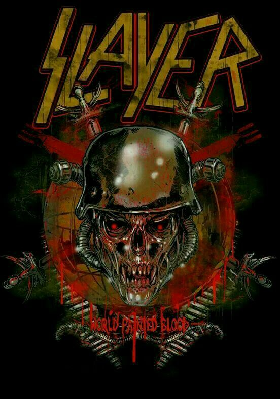 Pin by Miguel Bustamante on slayer Band and Art in 2019