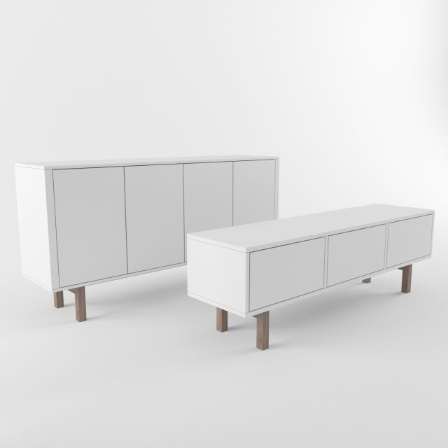 Ikea stockholm sideboard rtv scandinavian pinterest for Sideboard ikea