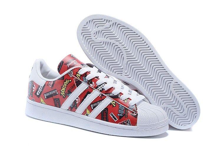 De Haute Qualité Adidas Originals Superstar Nigo Allover