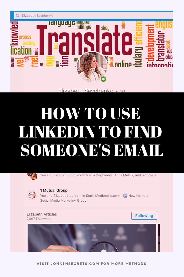 How To Find Someone S Email Address For Free Twitter Marketing Strategy Marketing Strategy Social Media Linkedin Marketing