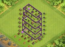 lol th 7 clash of clans base layout