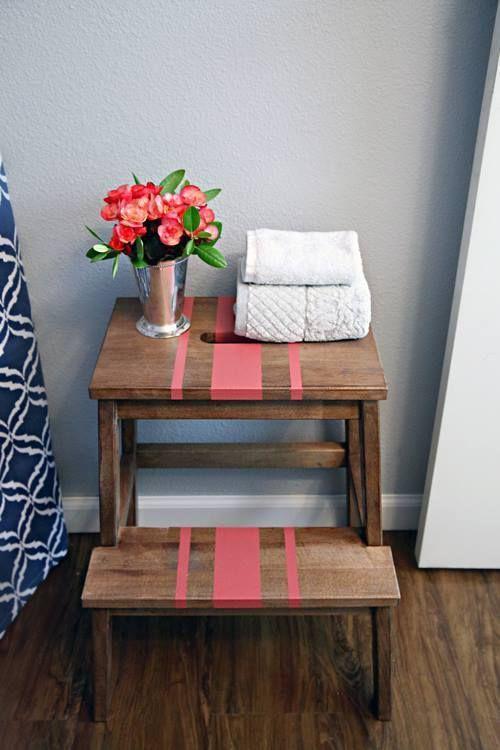 Tunear muebles Ikea una escalera de madera con mil y un usos 2 ...