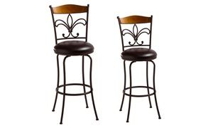 Groupon Sgabelli Bar : Groupon burton way swivel counter or bar stool groupon deal