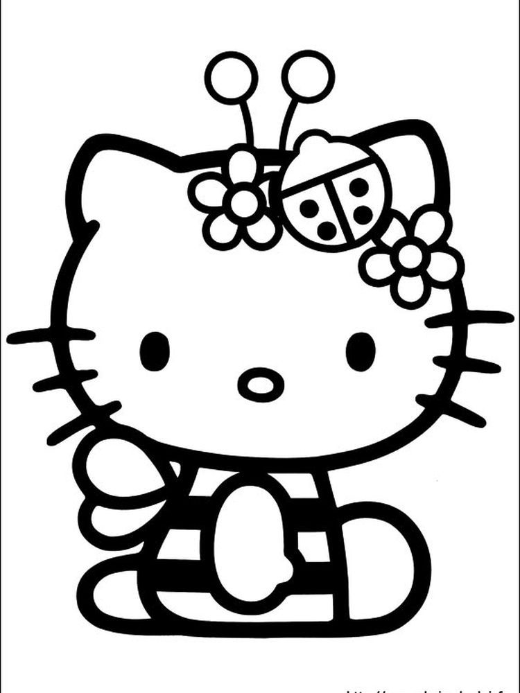 Hello Kitty Fairy Coloring Pages When We First Heard Hello Kitty The First One That Occurred I Hello Kitty Colouring Pages Kitty Coloring Hello Kitty Drawing