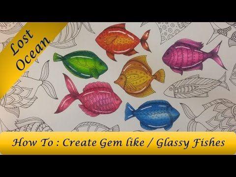 Http Www Youtube Com Watch V Kbnsvrdqv2g Lost Ocean Coloring Book Lost Ocean Coloring Books
