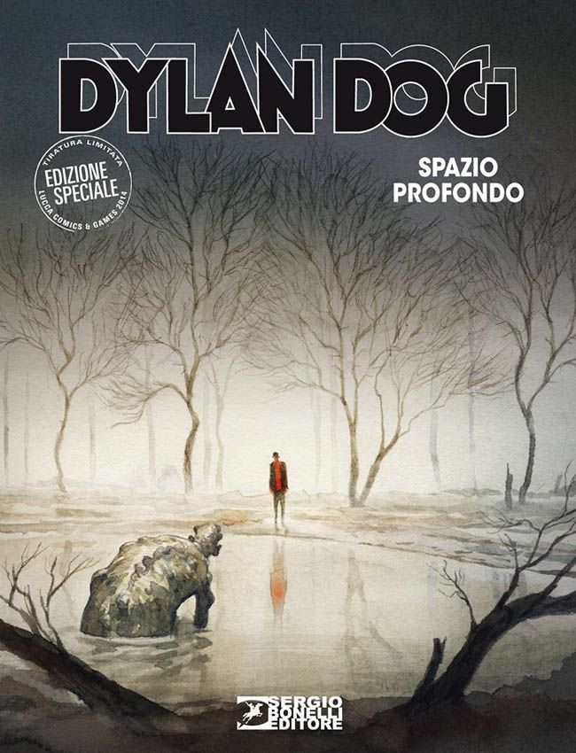 Dylan Dog variant cover by GiPi