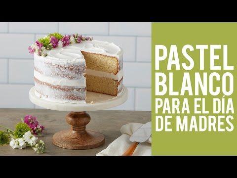 Cmo decorar un pastel fcil para da de madres YouTube Pasteles