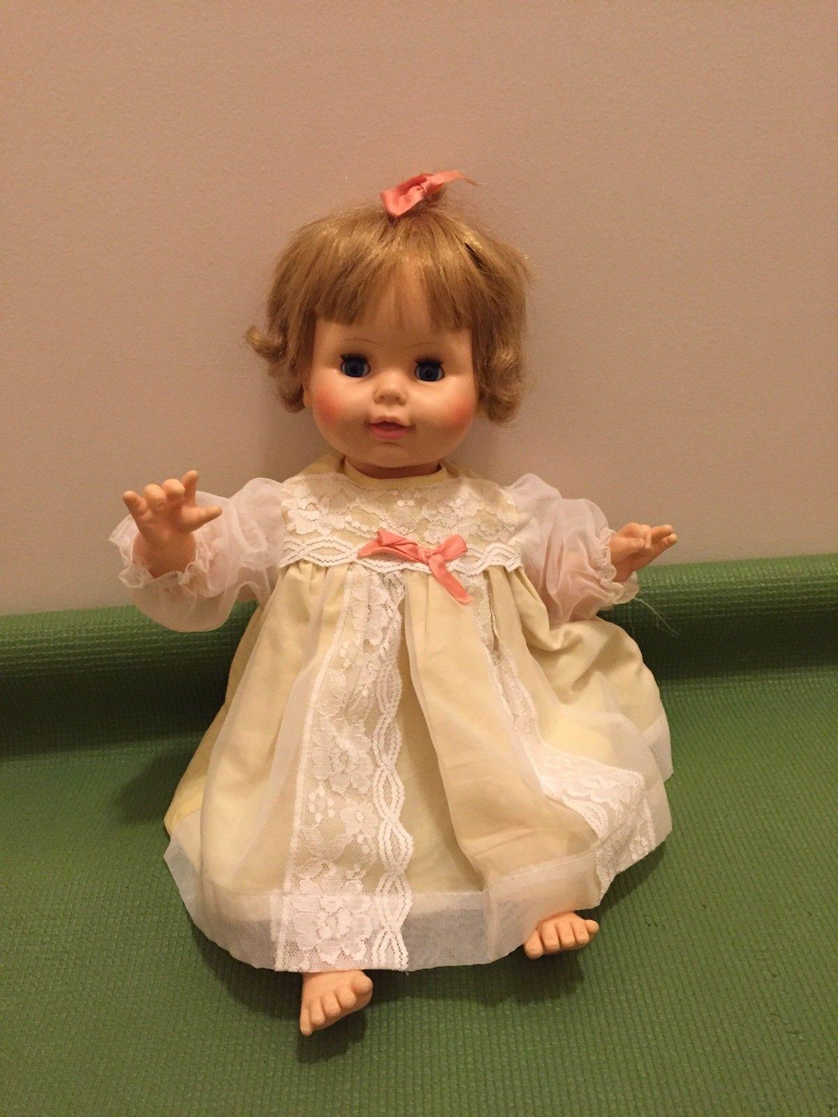 Horsman Cloth Body Baby Doll 1967 Ebay Baby Dolls Flower Girl Dresses Flower Girl