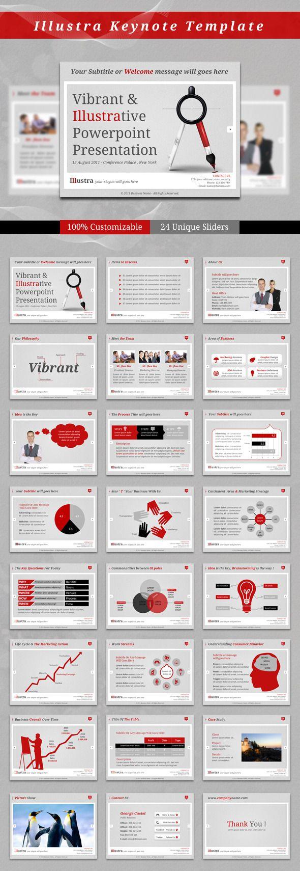 Illustra Keynote Template — Keynote KEY #key file #slides • Available here → https://graphicriver.net/item/illustra-keynote-template/2559785?ref=pxcr