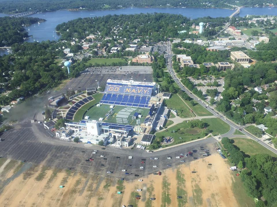 Annapolis, Maryland, Navy Stadium. City photo, Dolores