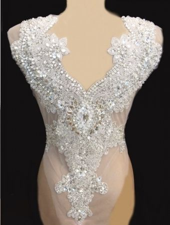 Gorgeous Rhinestone Appliques For Wedding Dresses Weddings