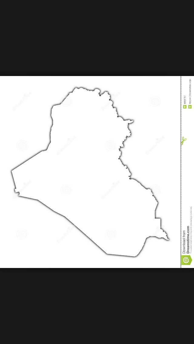 Iraq outline map tattoo | Tattoo | Map tattoos, Tattoos, Army life