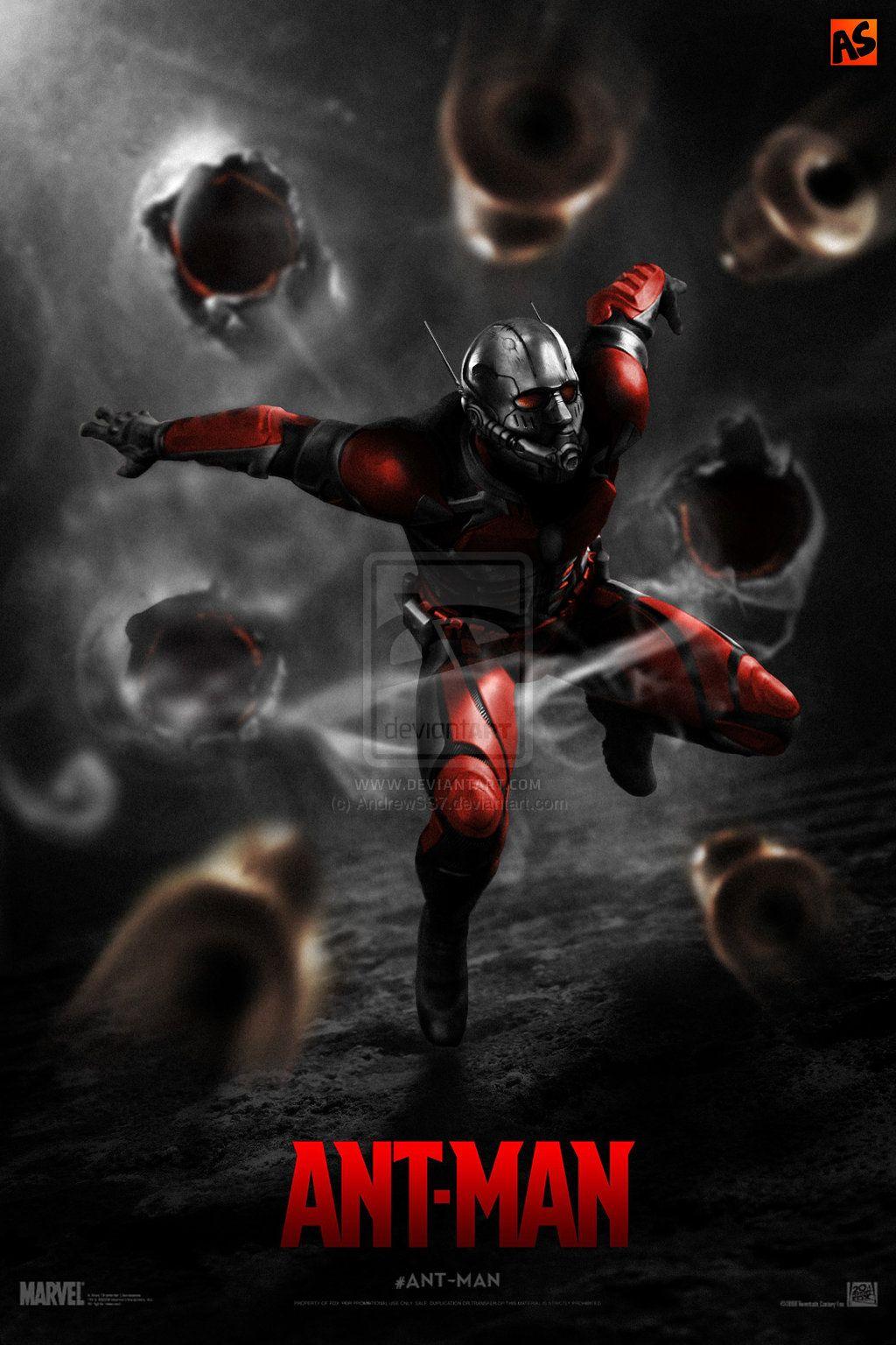 ANT-MAN (teaser) poster by AndrewSS7.deviantart.com on @deviantART