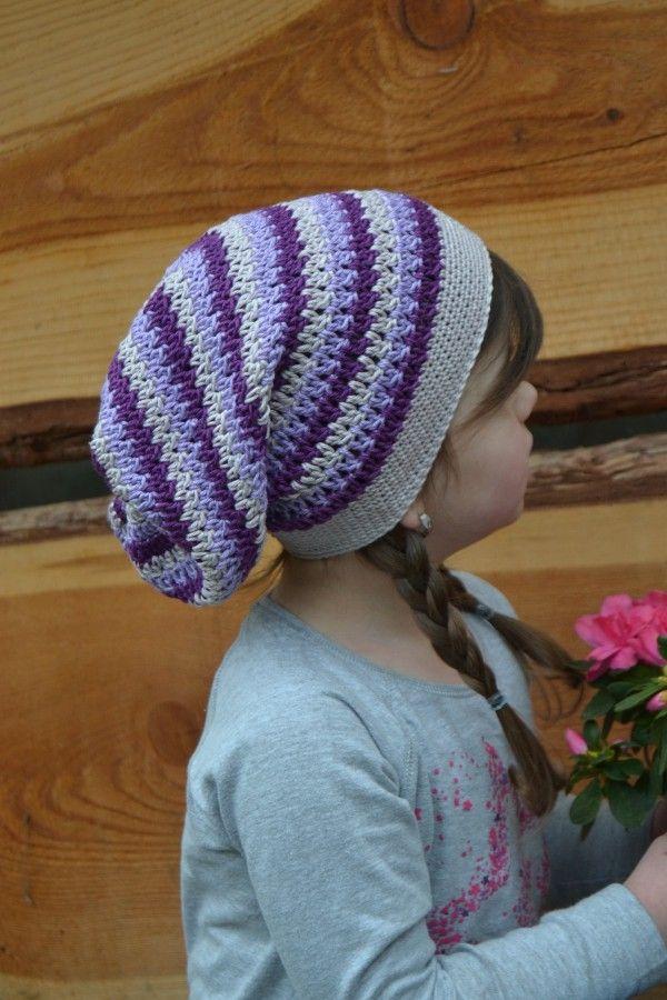 Beanie häkeln für den Sommer // leichte Mütze | Kopfsache ...